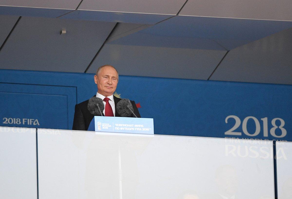 Владимир Путин поздравил сборную России с победой над Испанией