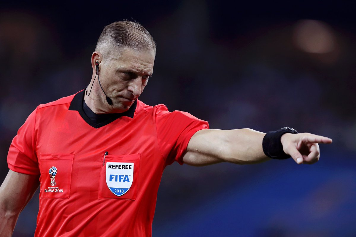 Главным судьей финального матча ЧМ-2018 в «Лужниках» назначен аргентинец
