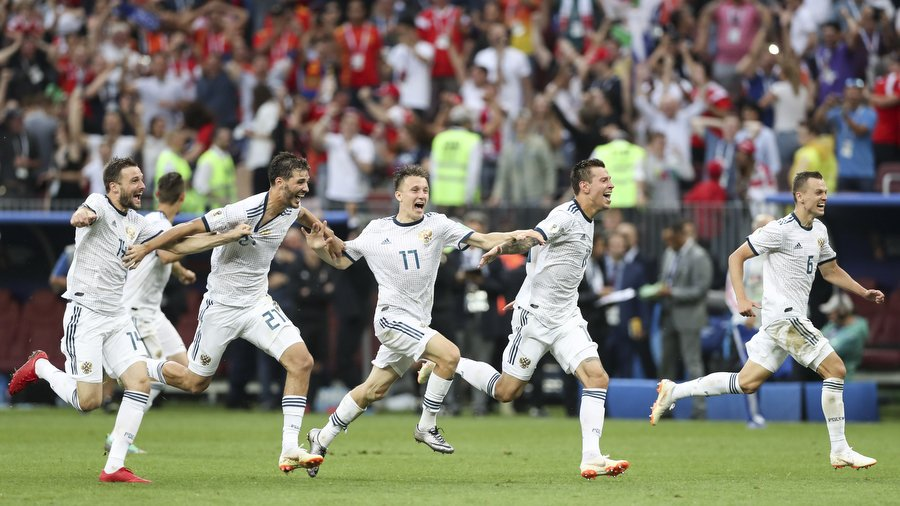 Сборная России по футболу заработала 16 млн долларов на ЧМ-2018