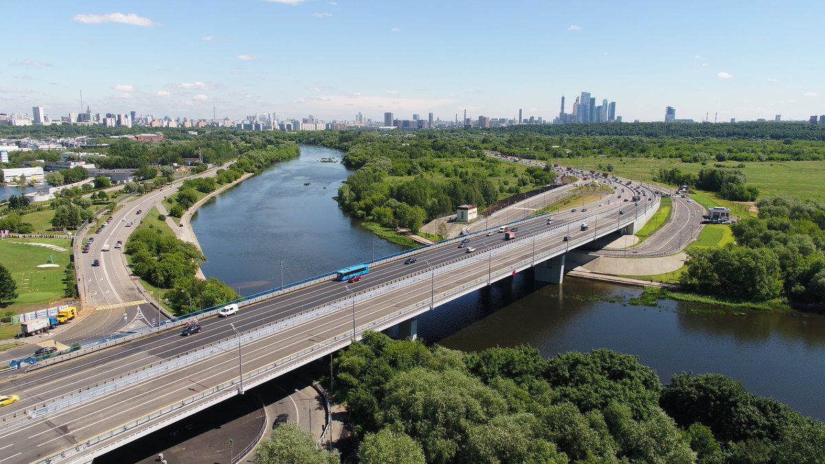 Сергей Собянин открыл движение по новому Крылатскому мосту