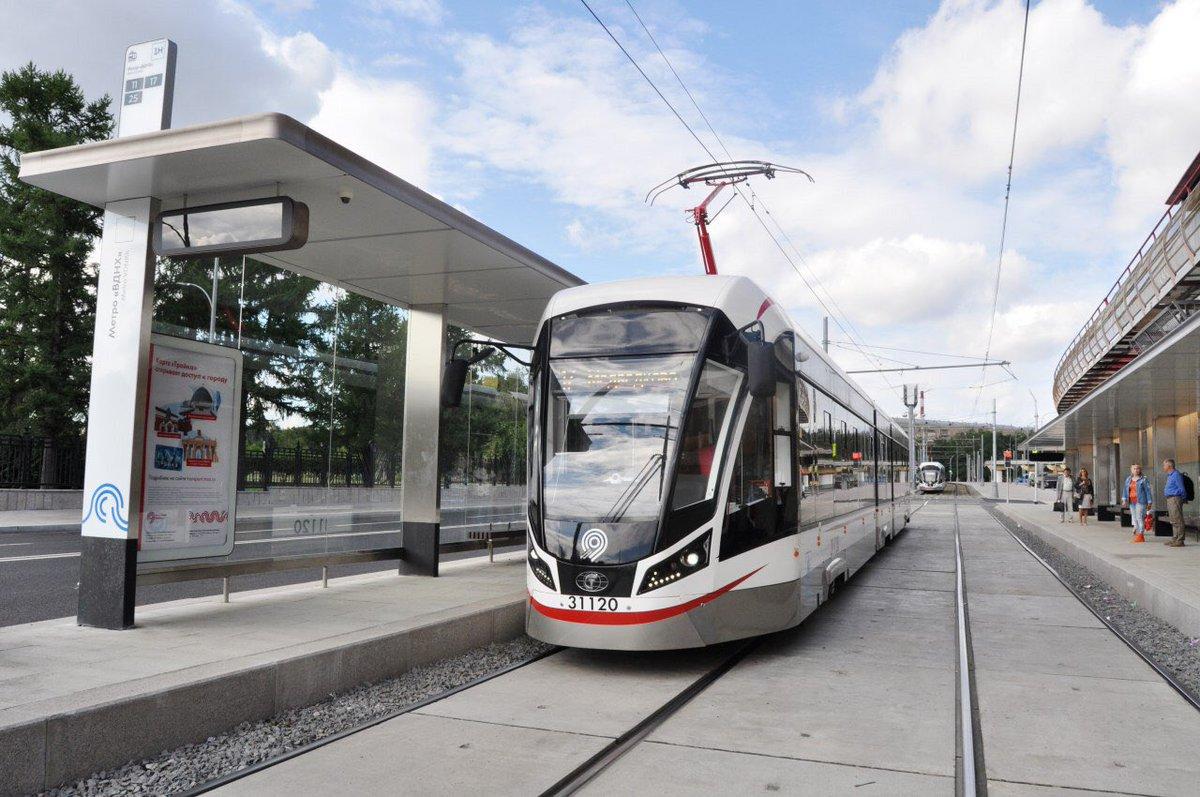 На ВДНХ появилась новая трамвайная остановка
