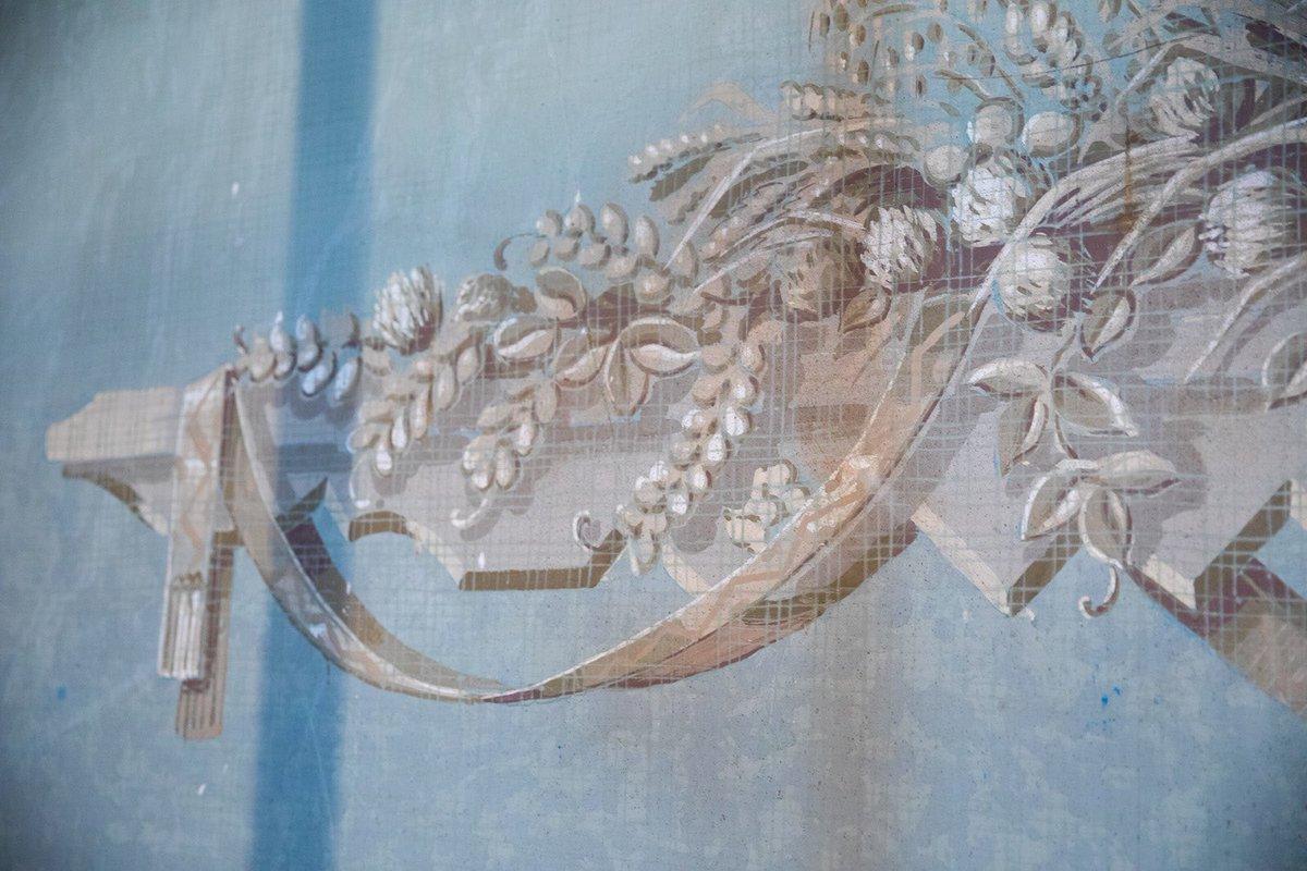 В павильоне «Латвийская ССР» нашли росписи 50-х годов