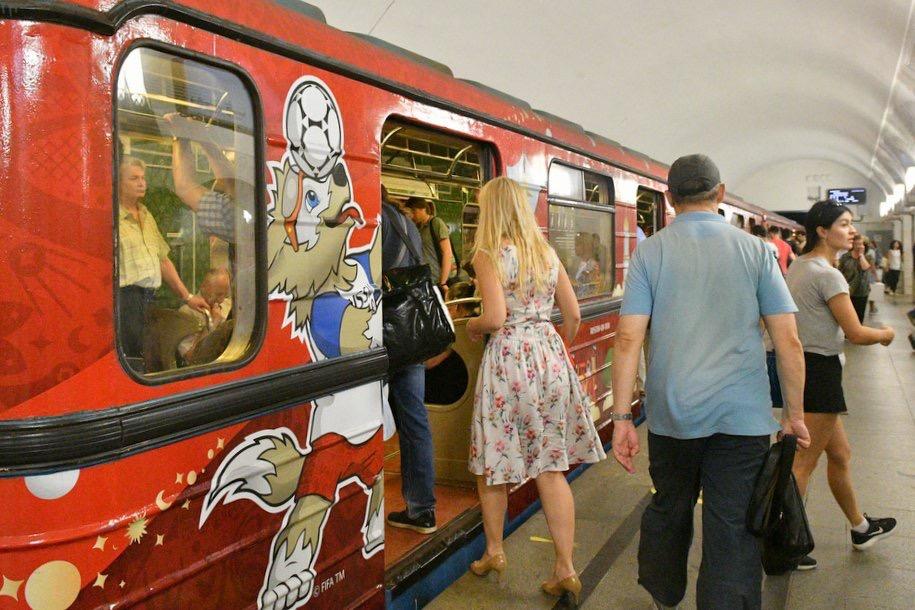 Станции метро «Университет» и «Воробьевы горы» вечером будут закрыты на вход