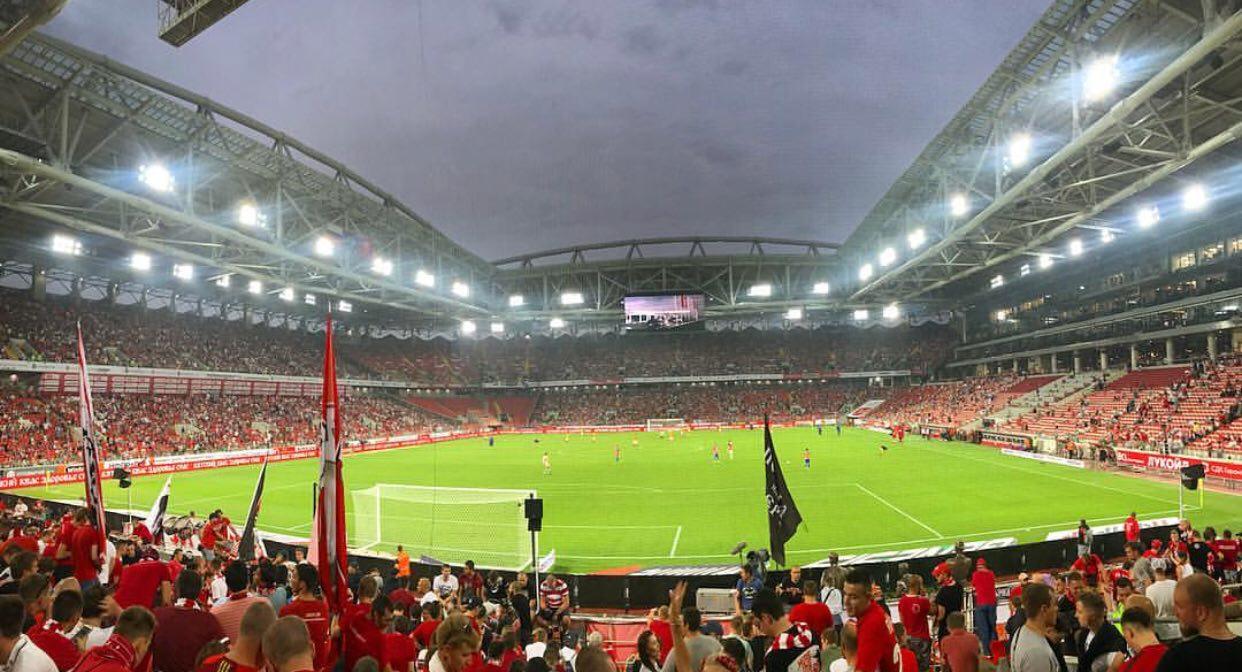 Более 36 тысяч зрителей было на матче в Москве в 1 туре Российской Премьер-Лиги 28 июля
