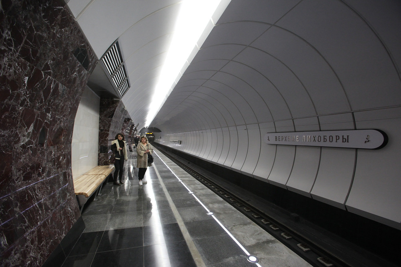 На участке Дмитровского шоссе ограничено движение до 31 августа в связи со строительством метро