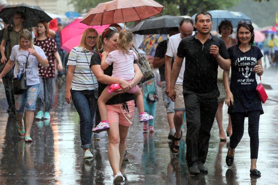 Сегодня в Москве выпадет до 15% месячной нормы осадков