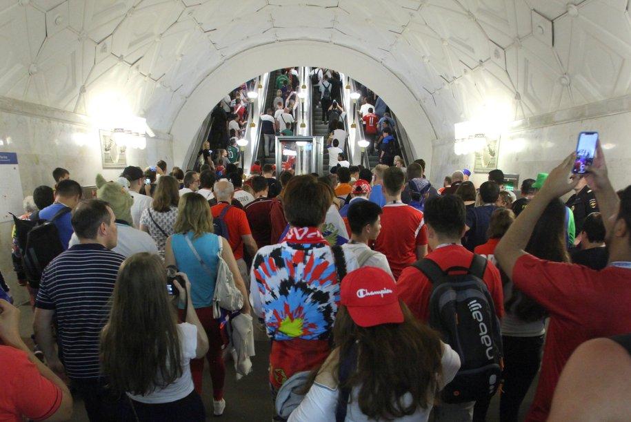 Вестибюли четырех станций метро закрыли на выходные