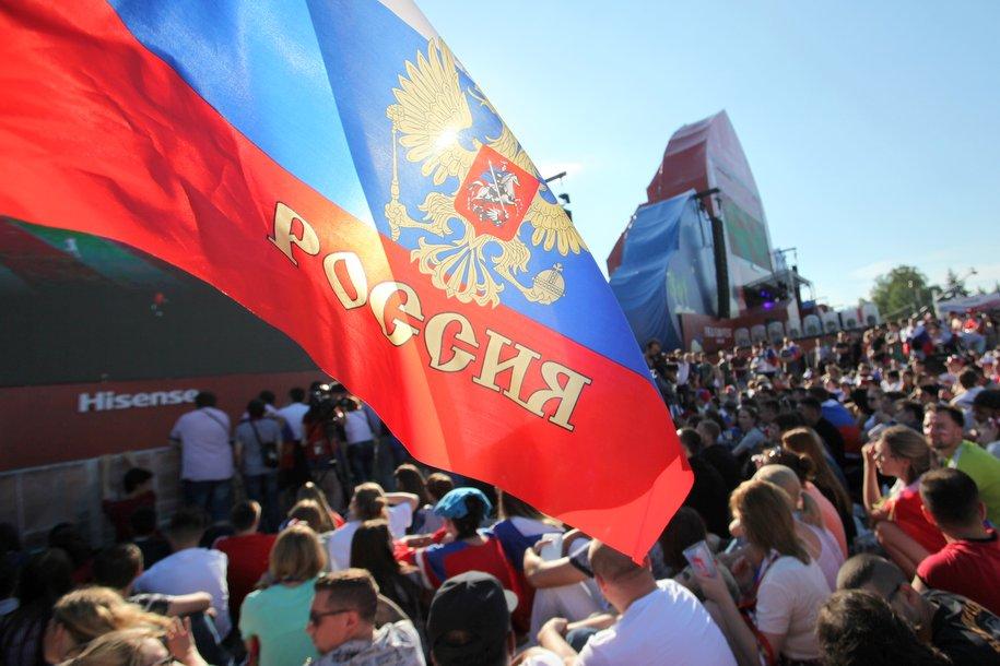 Мэр поблагодарил игроков сборной России за игру на ЧМ-2018