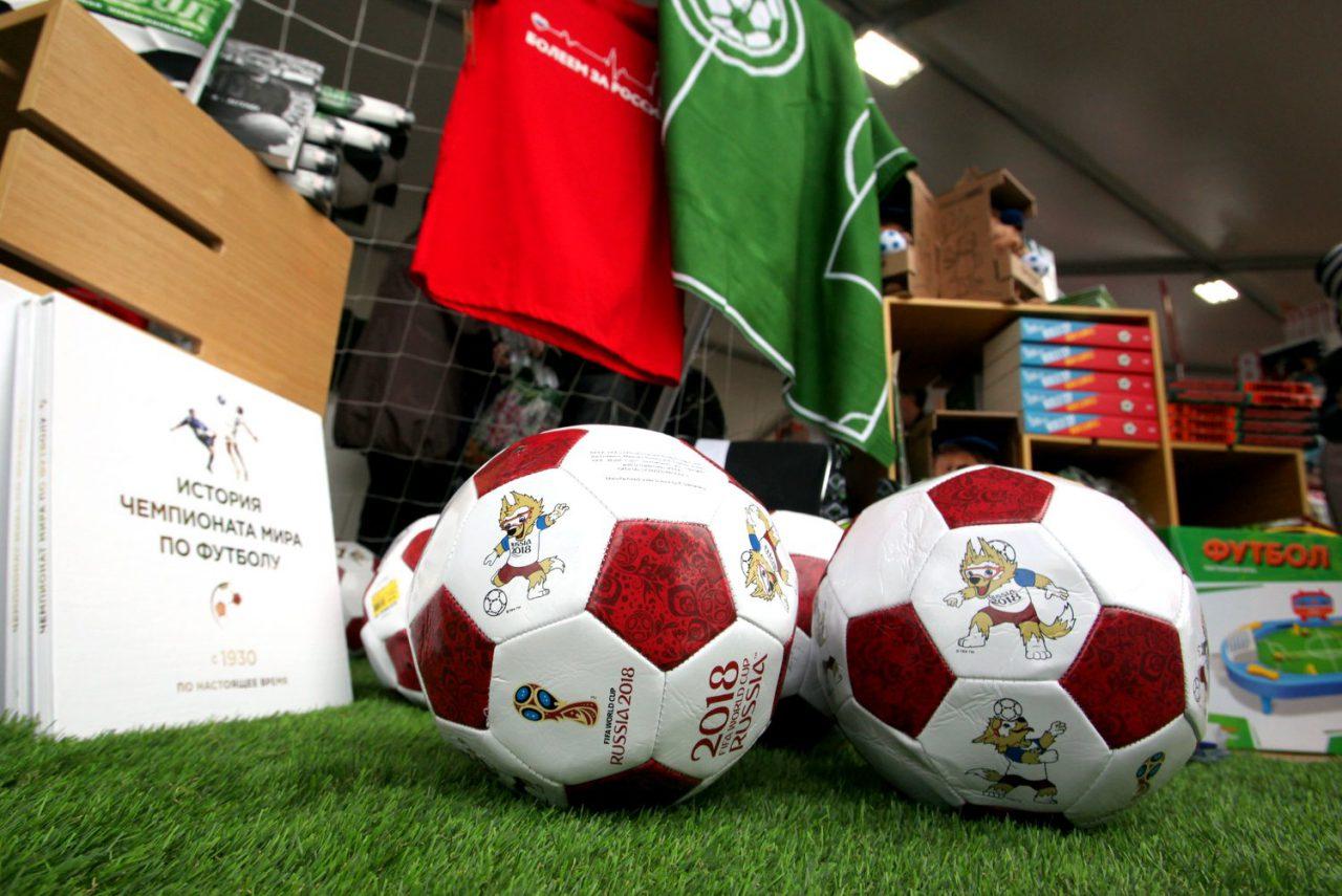 Продажи книг о футболе в Москве выросли почти на 40% в связи с проведением ЧМ-2018