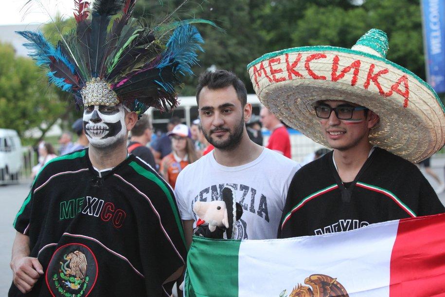 В национальном доме Мексики можно посмотреть матч Россия-Испания
