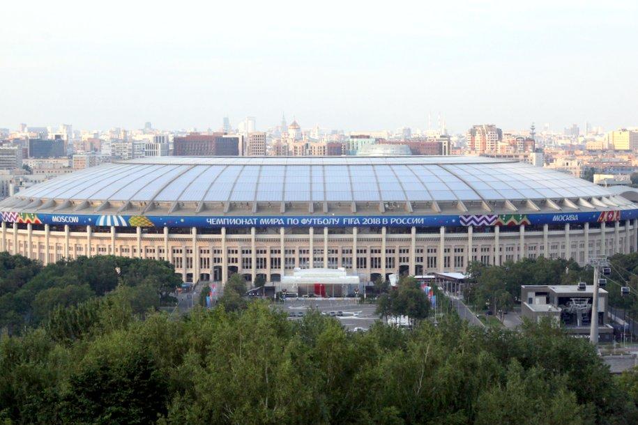 В день полуфинального матча ЧМ-2018 в Москве ожидается дождь