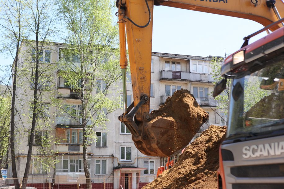 Осенью начнется возведение более 70 домов на стартовых площадках реновации