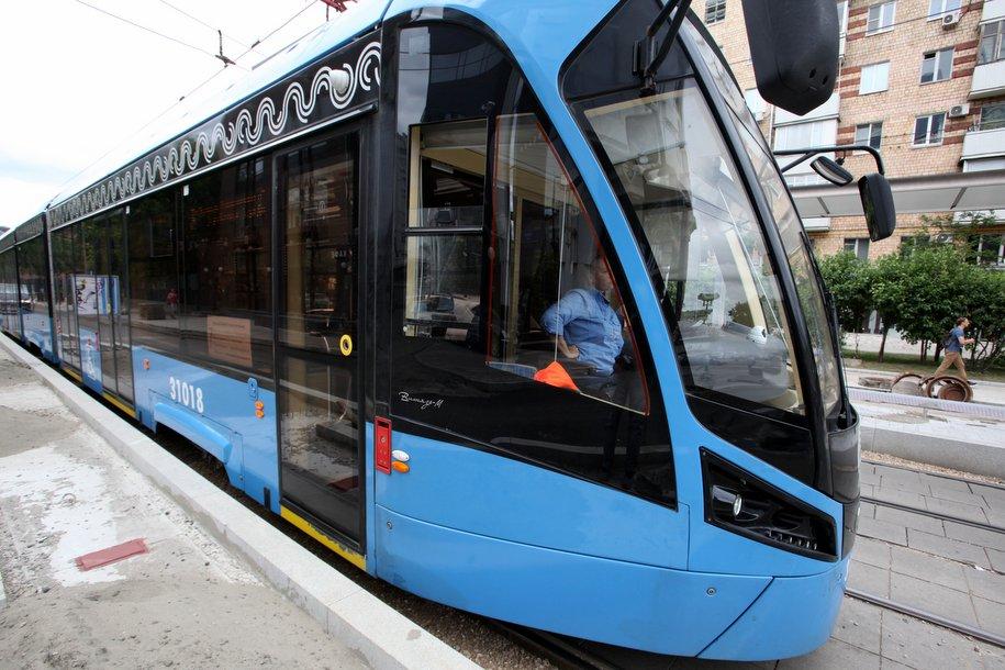 Дептранс может приступить к обкатке беспилотного трамвая в Москве