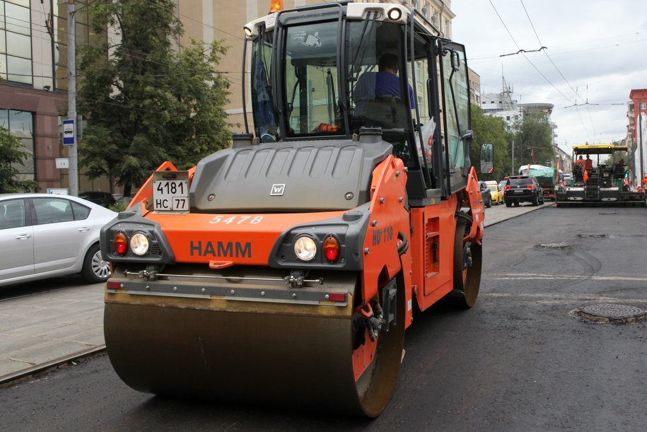В микрорайоне Лазенки стартовало обустройство автобусного маршрута