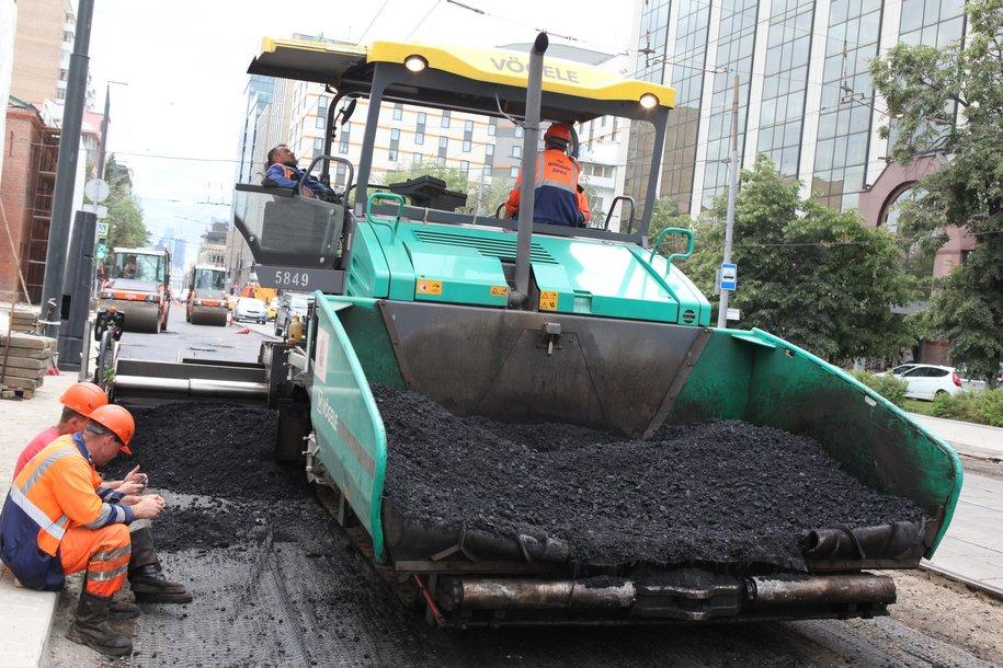 В Москве отремонтировали около 12 миллионов квадратных метров асфальта