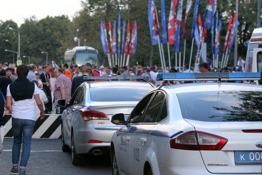 ЦОДД восстановил движение вблизи стадионов «Лужники» и «Спартак»