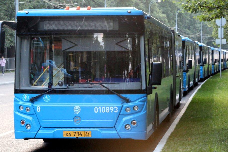 Маршрут бесплатных автобусов во время закрытия Филевской линии