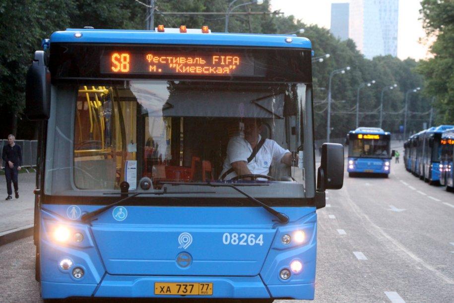 «Мосгортранс» изменил время работы маршрута автобуса №950