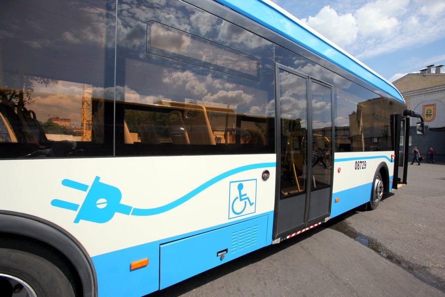 К 2025 году Москва полностью перейдет на электрический транспорт