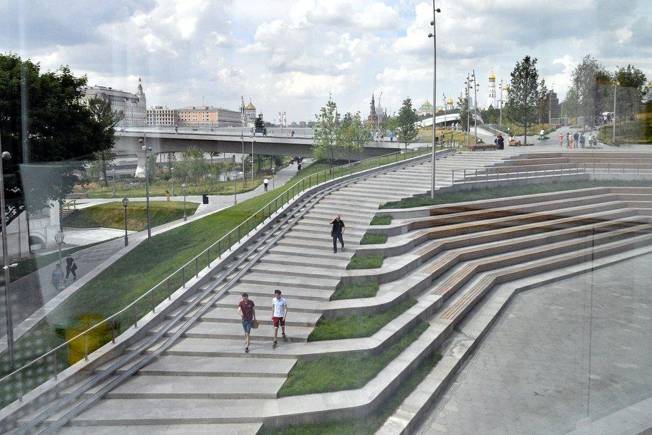 Парк «Зарядье» с момента открытия посетили более 8 млн человек