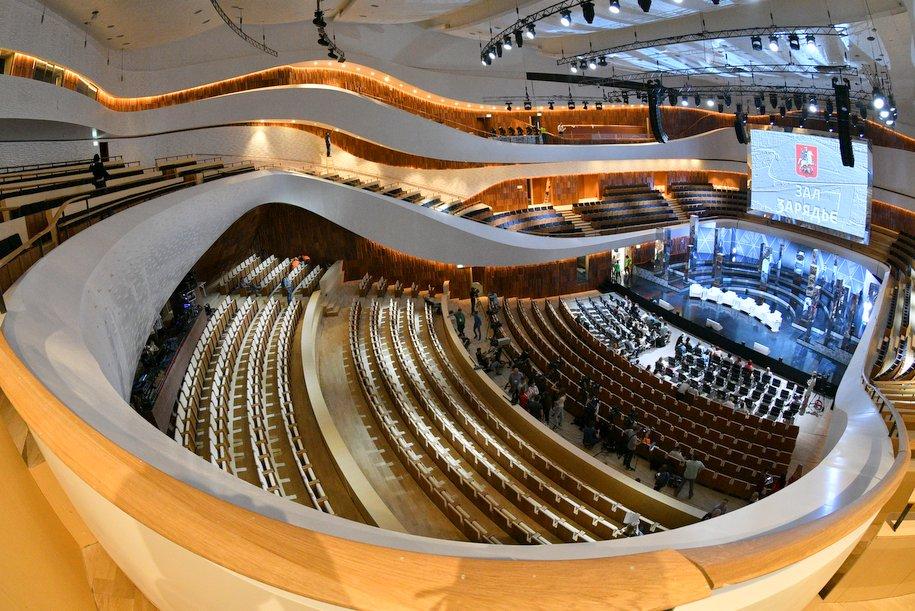 Парк и концертный зал «Зарядье» получили премию MUF'18 Community Awards