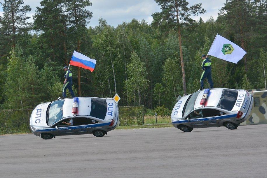 В Ногинске состоялось открытие Международного этапа конкурса «Дорожный патруль»