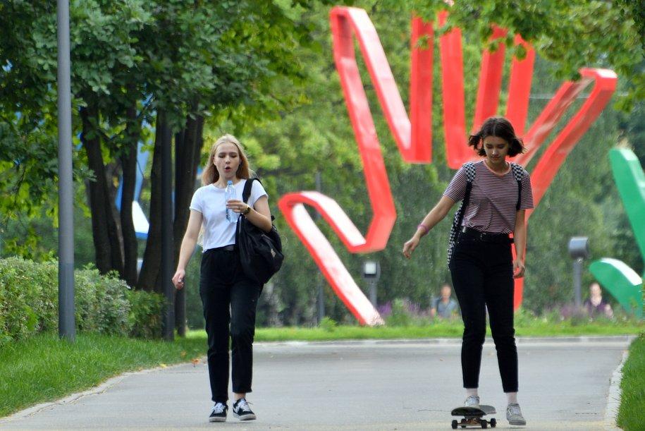 Понедельник, 16 июля, стал самым жарким днем в Москве в этом году