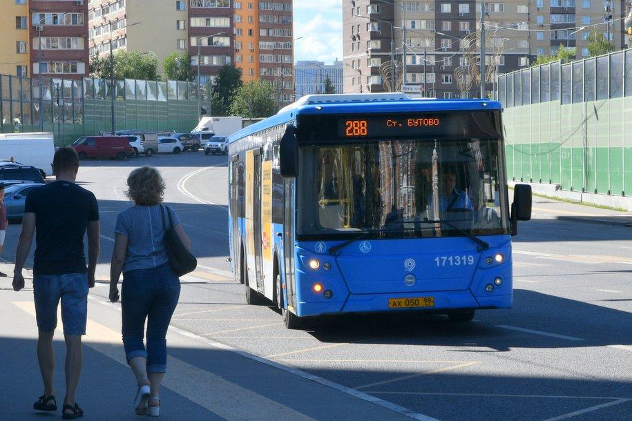 За время ЧМ-2018 ночными автобусами в Москве воспользовались более 150 тысяч человек