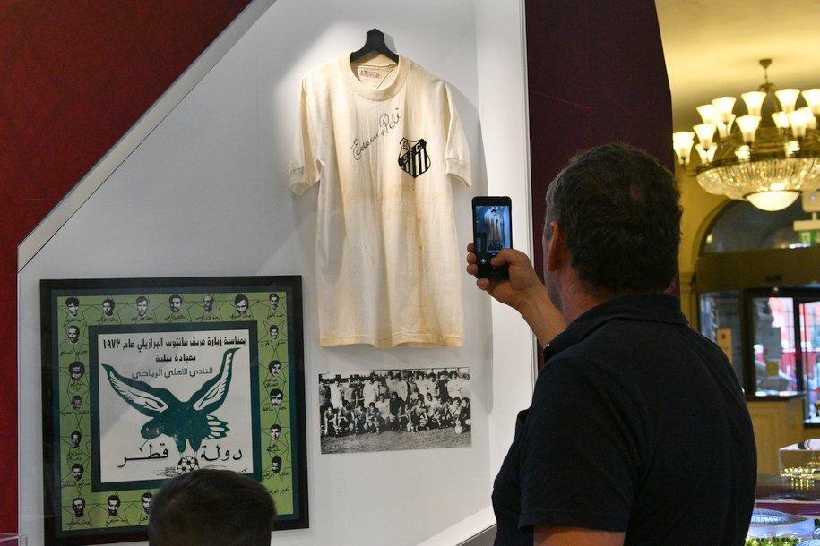 В ГУМе открылась выставка посвящённая ЧМ-2022 в Катаре