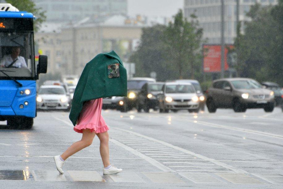 Сегодня в Москве ожидаются ливневые дожди и до 25 градусов тепла