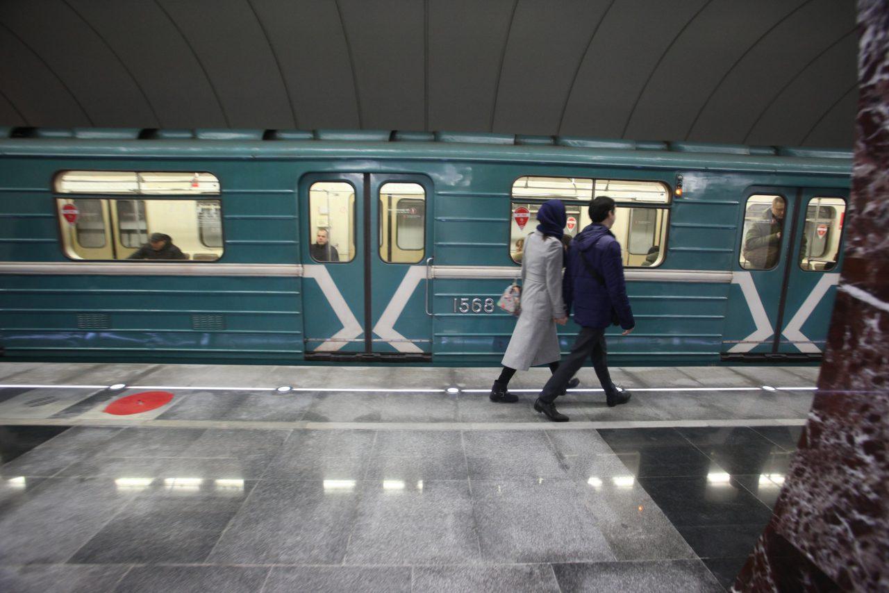 Северный вестибюль станции «Каховская» будет закрыт с 27 июля по 3 августа