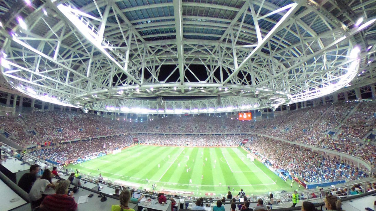 Более 43 тысяч человек посетили матч Суперкубка России в Нижнем Новгороде