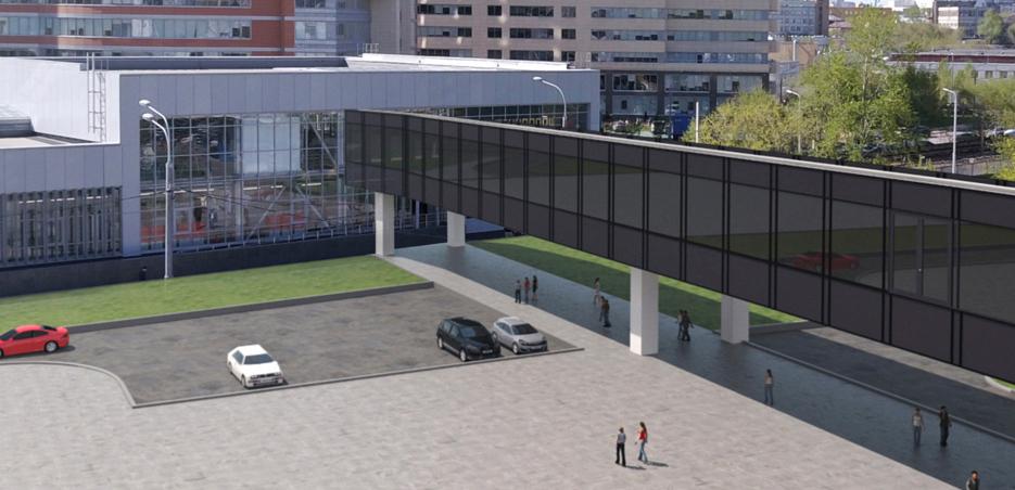 В ТПУ «Технопарк» появятся торговый комплекс с отелем