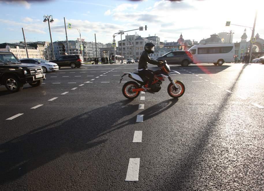 В связи с проведением ночного велопарада в Москве будет перекрыт ряд улиц