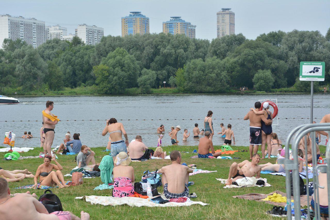 Август встретит москвичей жаркой погодой без осадков