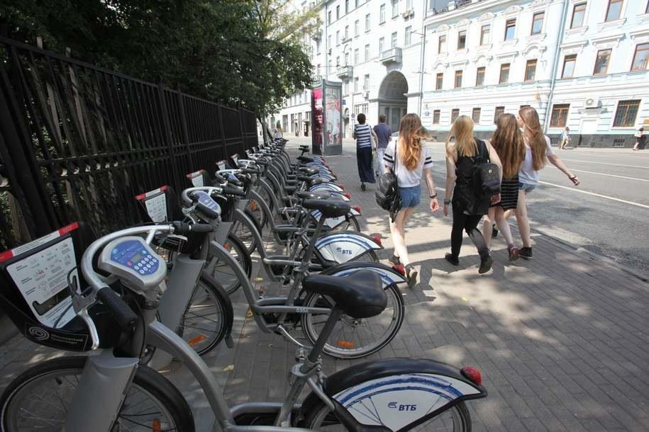 Московский велопрокат установил новый рекорд по количеству поездок