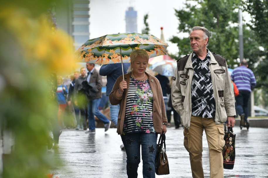 Сегодня в Москве ожидается кратковременный дождь и до 25 градусов тепла