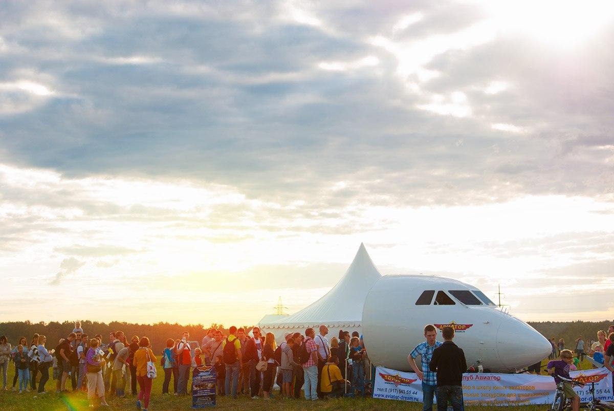 На фестиваль «Московское небо» можно прилететь на своем вертолете