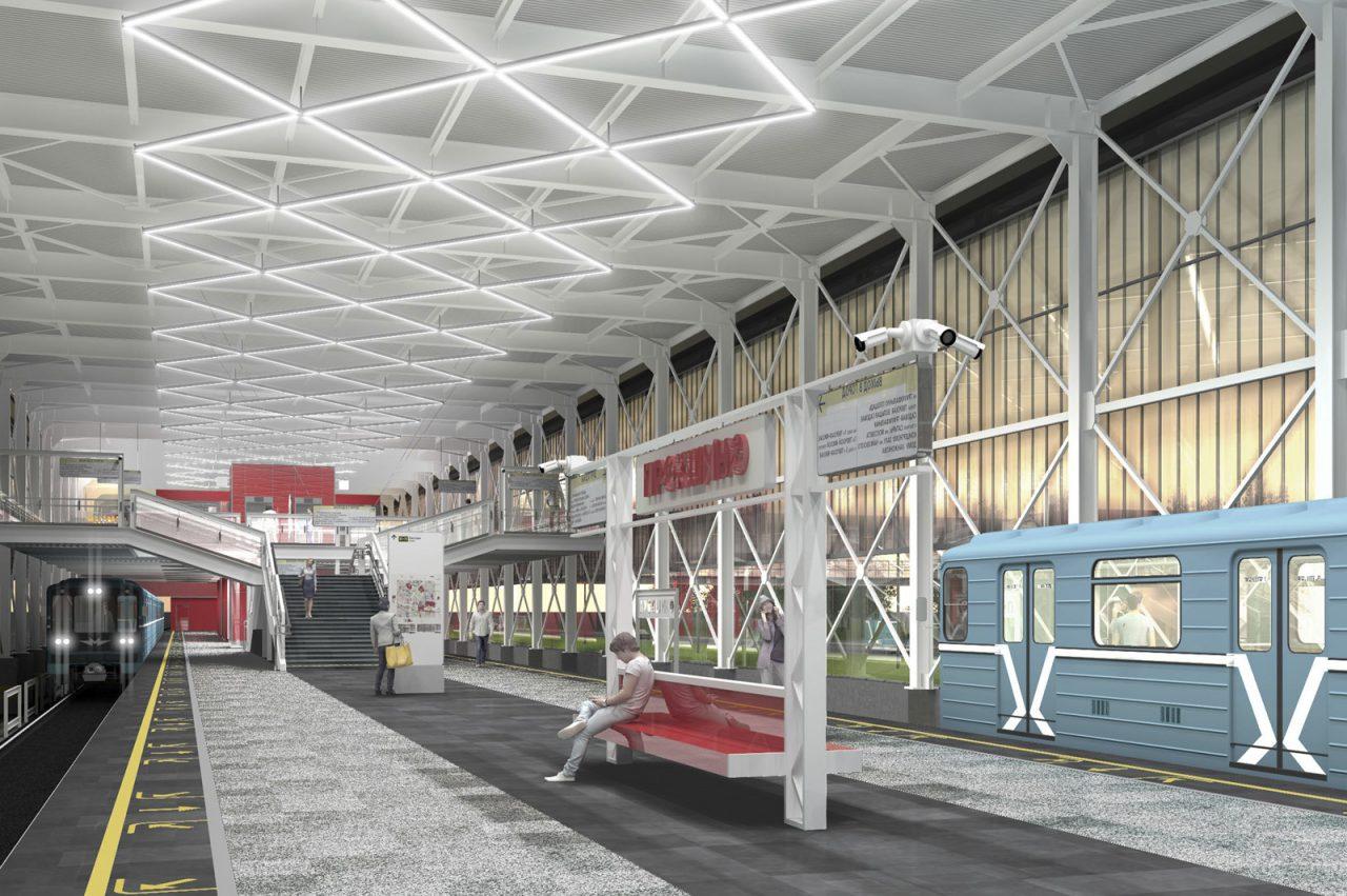 Станции метро «Прокшино» и «Филатов луг» построят в стиле старинных вокзалов