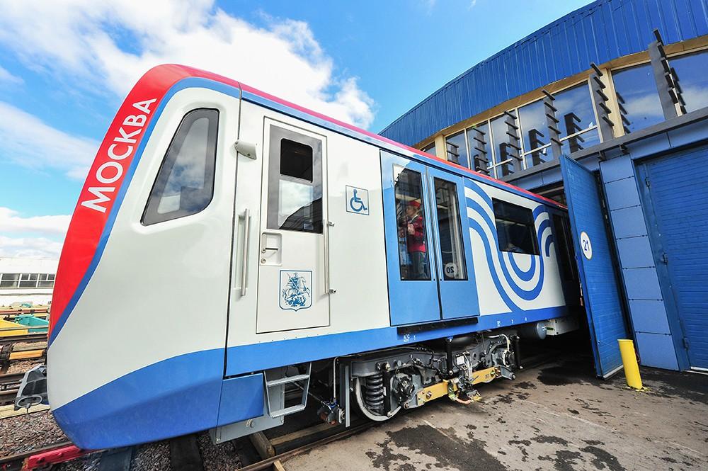 В московском метро увеличат количество поездов «Москва»