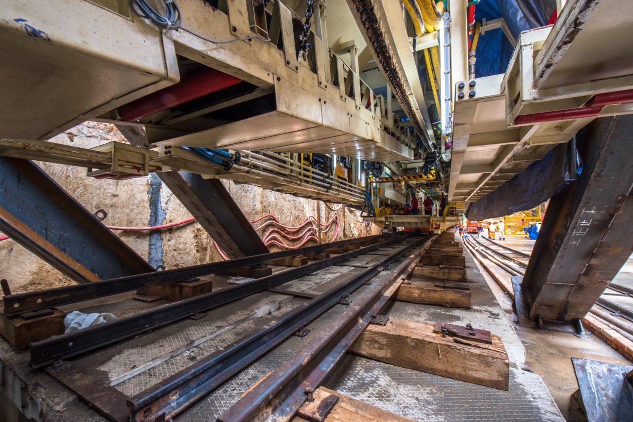 На БКЛ стартовало строительство левого перегонного тоннеля от «Аминьевского шоссе» до «Мичуринского проспекта»