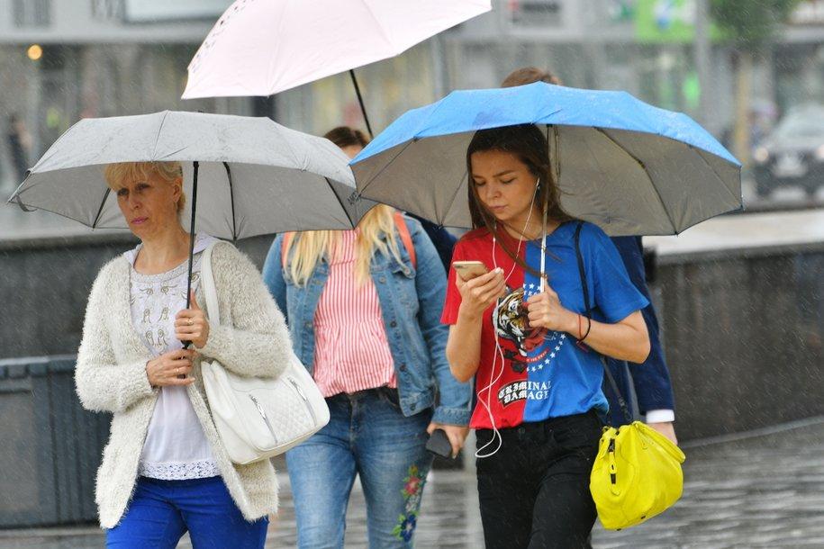 За минувшую ночь в Москве выпало более трети месячной нормы осадков