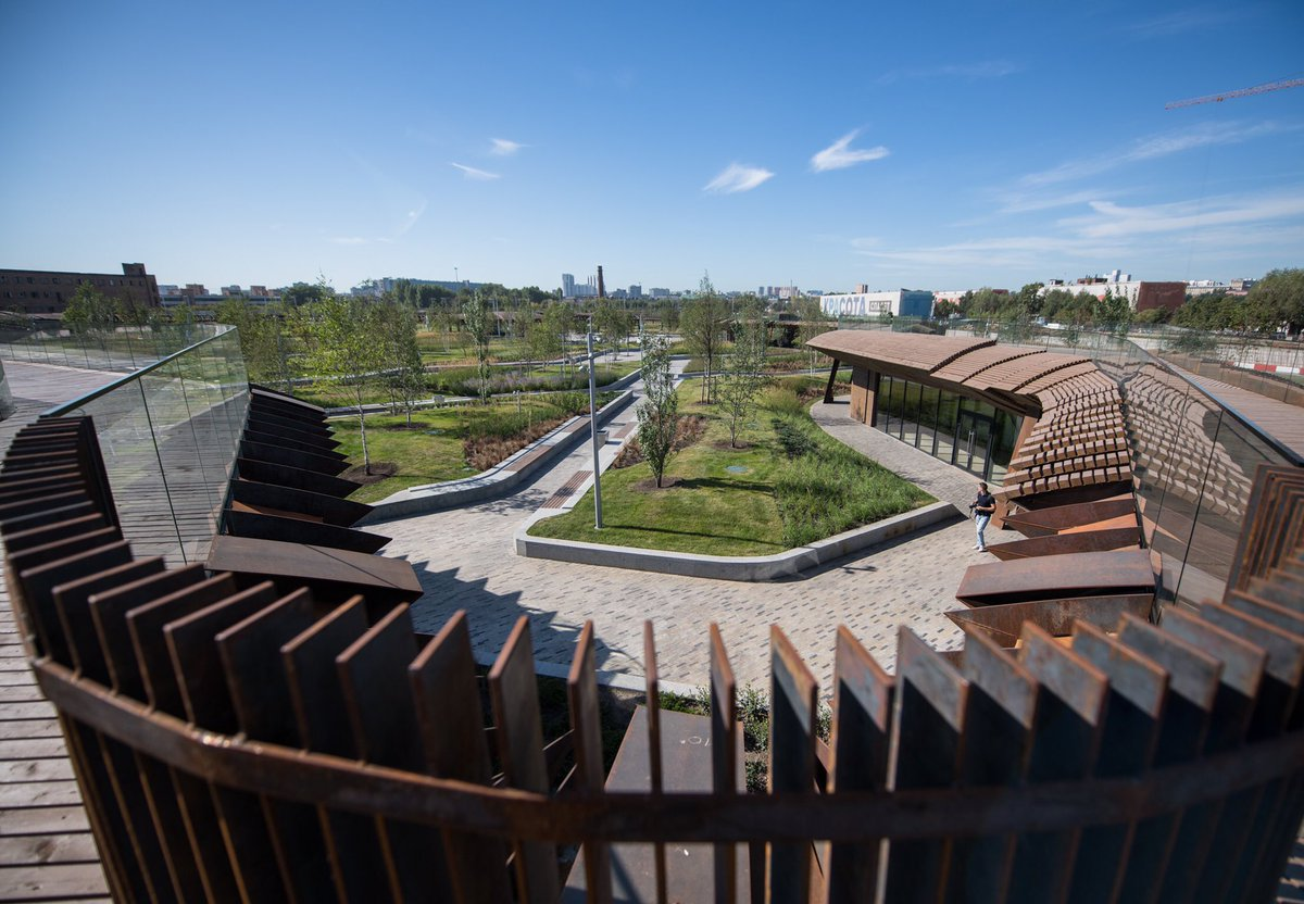 В районе ЗИЛа открыли новый парк «Тюфелева роща»