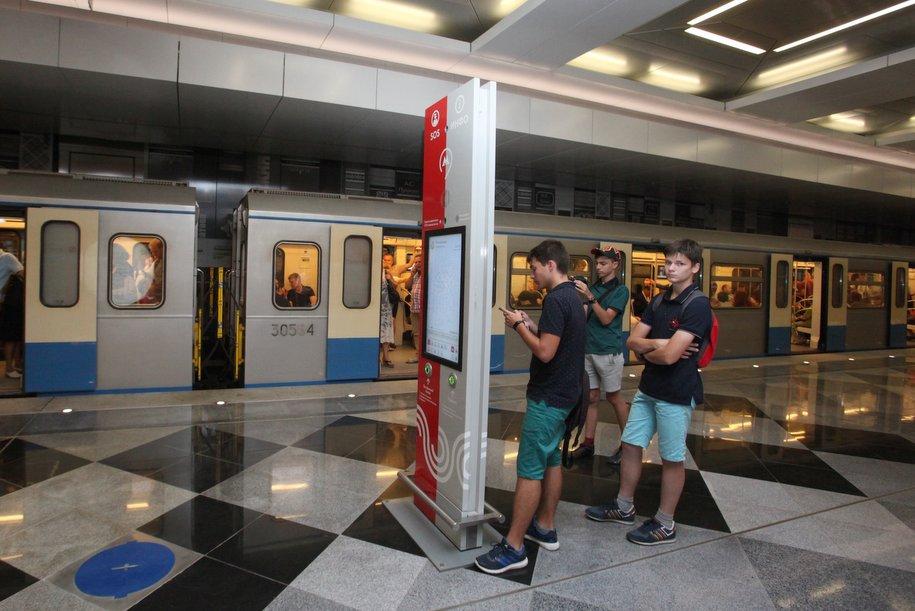 Более 50 тыс. пассажиров приняли за день семь новых станций метрополитена