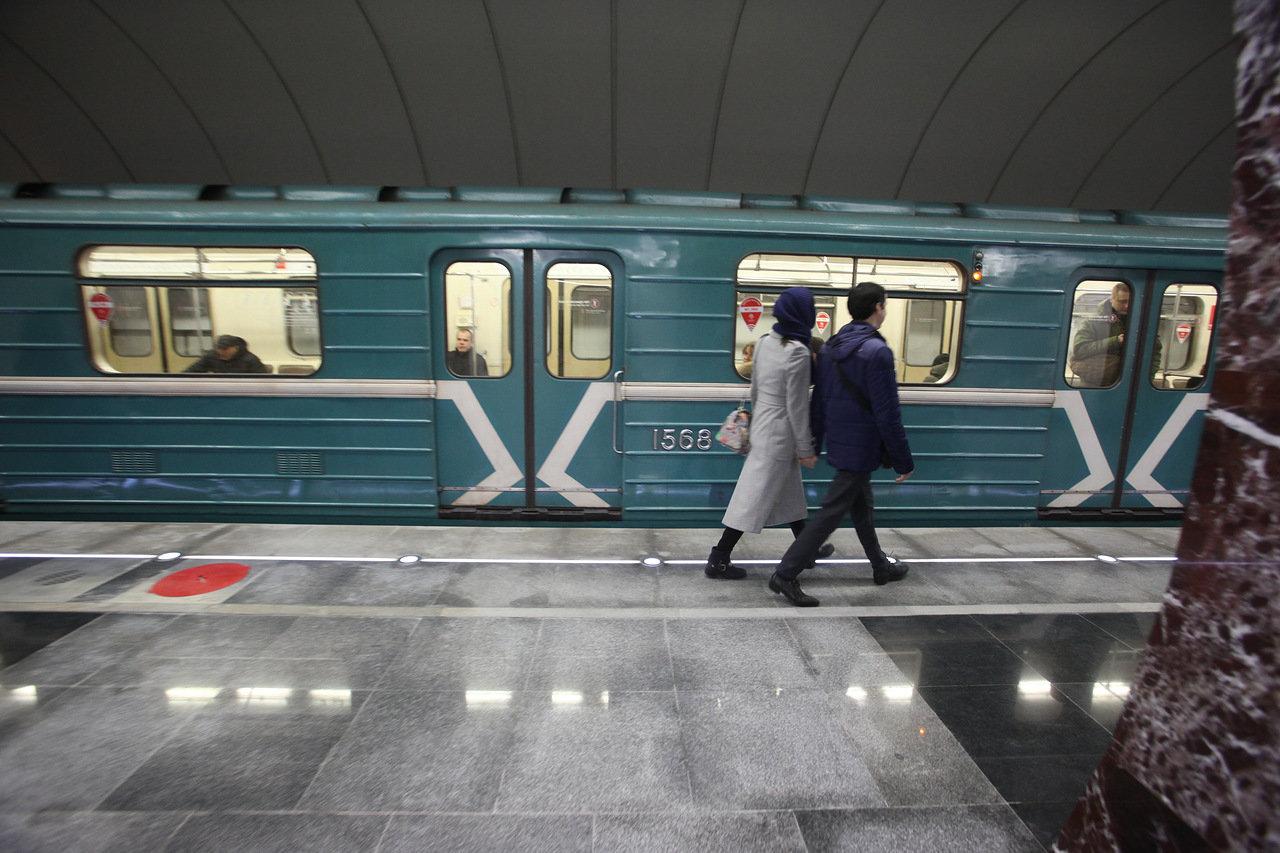 На Замоскворецкой линии метро увеличены интервалы движения поездов
