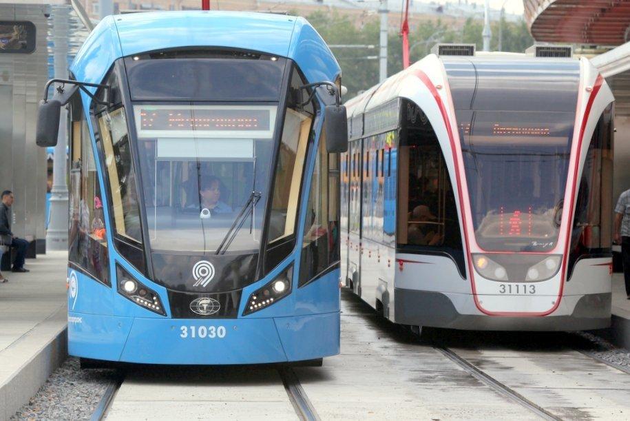18 августа трамваи двух маршрутов на ул. Большая Черемушкинская будут следовать с увеличенными интервалами
