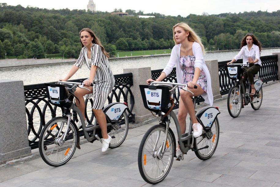 Более 3 млн человек воспользовались городским велопрокатом с начала сезона