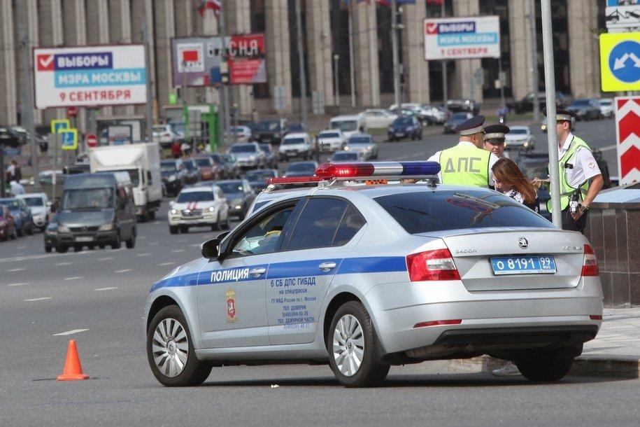 Загруженность дорог Москвы оценивается в 5 баллов