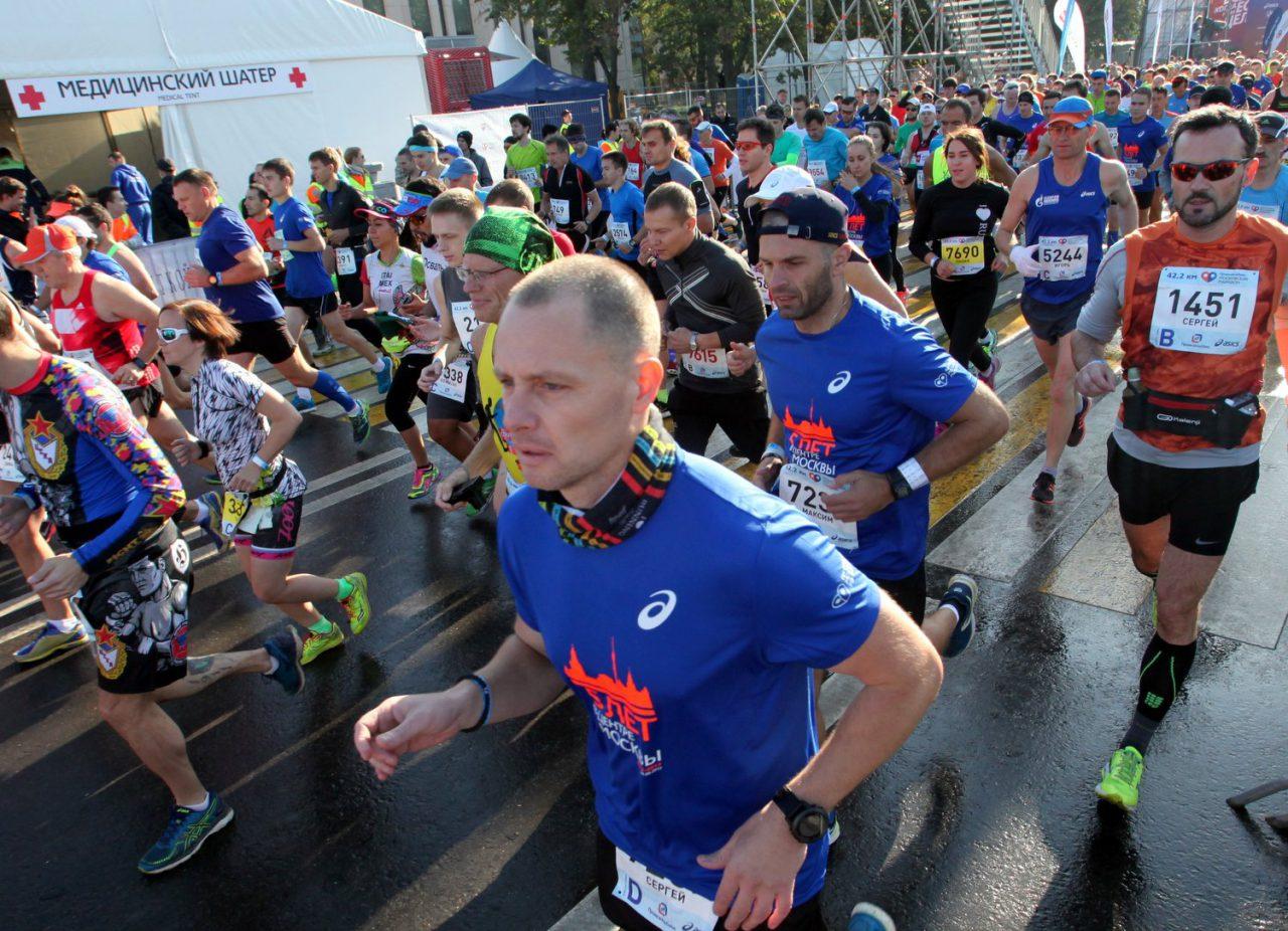 Полумарафон «Лужники» собрал порядка 7 тыс. участников