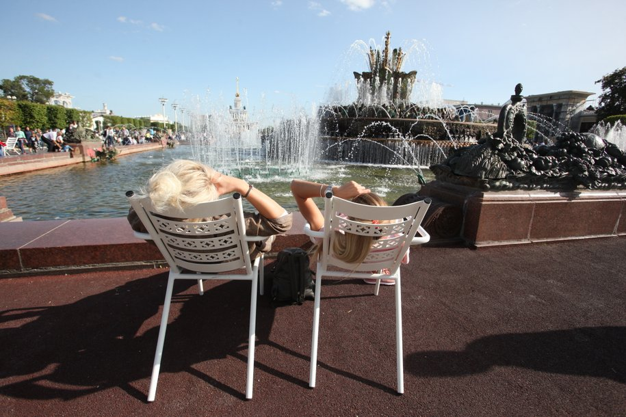 Сегодня в Москве ожидает солнечная погода и до 28 градусов тепла